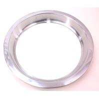 Chrome Wheel Rim Beauty Ring 75-84 VW Rabbit Jetta Pickup MK1 - Genuine