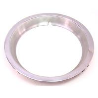 Chrome Wheel Rim Beauty Ring 75-84 VW Rabbit Jetta Pickup MK1 ~ Genuine ~