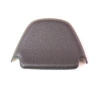 Seat Belt Anchor Trim Cap Black 85-92 VW Jetta Golf Mk2 - 165 857 719