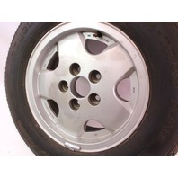 """Genuine VW 14"""" x 6"""" Alloy Spare Wheel Rim 80-91 Vanagon T3  With Tire"""
