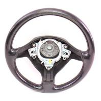 3 Spoke Sport Steering Wheel VW Jetta GTI MK4 Black Leather - Genuine