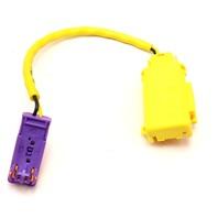 Seat Belt Harness Plug Wiring 06-10 VW Passat B6 - Genuine - 6X0 972 783