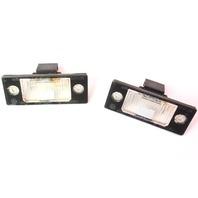 License Plate Trunk Lights Lamps Lens 99-05 VW Jetta MK4 Genuine - 1J5 943 021 A