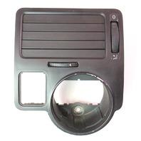LH Driver Dash Air Vent Switch Trim VW Jetta MK4 - Flush Fold - 1J1 819 185 A