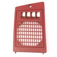 LH Front Red Dash Speaker Grill Cover 81-84 VW Rabbit Pickup MK1 ~ 175 857 081