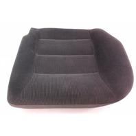 LH Rear Back Seat Cushion Foam & Cover 99-01 VW Jetta Golf MK4 ~ Black Cloth