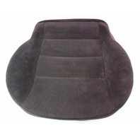 Front Seat Cushion & Cover 99-01 VW Jetta Golf MK4 Black Cloth ~ Genuine