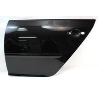 LH Rear Door Shell Skin 06-09 VW Rabbit GTI MK5 LC9Z Black Magic Pearl Genuine