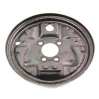 LH Rear Drum Brake Backing Plate 89-92 VW Jetta Golf MK2 - Genuine - 200mm