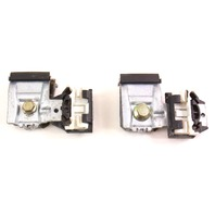 RH Front Window Regulator Hardware Glass Clips Pair 98-10 VW Beetle - Genuine