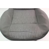 Front Seat Cushion & Cover 02-05 VW Jetta Golf MK4 Grey Cloth - Genuine