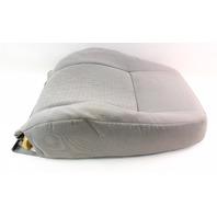 RH Front Seat Back Rest & Cover 02-05 VW Jetta Golf MK4 Grey Cloth - Genuine