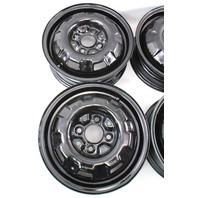 "13"" x 4.5"" Steel Wheel Rim Set 4x100 VW Jetta Golf Rabbit Pickup MK1 MK2 Genuine"