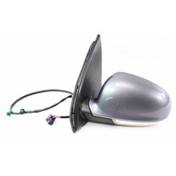 LH Exterior Side View Door Mirror 06-09 VW Rabbit Golf GTI MK5 LA7T United Gray