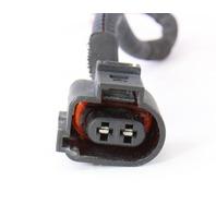 Headlight Washer Wiring Pigtail Plug 05-10 VW Jetta GLI GTI MK5 - 1J0 973 722 A