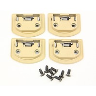 Tie Down Trunk Hook Anchor Set 01-05 VW Passat - Beige - Genuine - 1J0 864 203 B