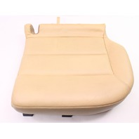 LH Rear Lower Seat Cushion & Cover 01-05 VW Passat Wagon B5.5 Beige Leather