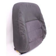 LH Front Seat Back Rest & Cover 04-05 VW Jetta Golf MK4 Dark Grey Cloth Genuine