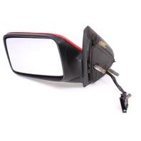 LH Exterior Side View Door Mirror 93-99 VW Jetta Golf GTI Mk3 LY3D Red - Genuine
