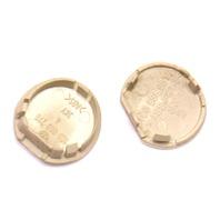 Center Console Bolt Cover Caps 98-10 VW Beetle - Beige - Genuine - 1C0 863 276