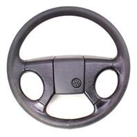 Leather GTI Sport Steering Wheel 85-92 VW Jetta Golf MK2 ~ Genuine ~ 321 419 660