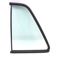 LH Rear Quarter Side Window Door Exterior Glass 85-92 VW Jetta Golf 4 Door Mk2