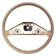 Brown Steering Wheel VW Rabbit Jetta Pickup MK1 ~ Genuine ~