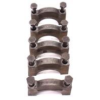 1.6 Diesel Cylinder Block Main Crank Caps 81-84 VW Rabbit Pickup Jetta Mk1