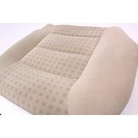 LH Rear Back Seat Cushion & Cover 99-05 VW Jetta Golf MK4 Beige Cloth - Genuine