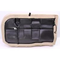 RH Rear Back Seat Cushion & Cover 99-05 VW Jetta Golf MK4 Beige Cloth - Genuine