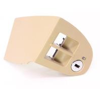 Trunk Gas Button Release Door Panel Switch Trim 99-05 VW Jetta Mk4 Beige Genuine