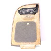 RH Trunk Side Carpet Door VW Jetta Wagon MK4 Hatch Access Panel - Grey - Genuine