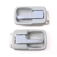 Grey Interior Door Pull Handle Set VW Jetta Rabbit Caddy LX MK1 Vanagon T3
