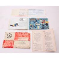 1981 Volkswagen Rabbit Pickup Caddy Truck MK1 Owners Manual Book VW