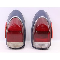 Tail Brake Light Lamp Set 68-70 VW Beetle - Genuine Hella