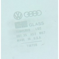LH Front Window Door Side Glass 75-84 VW Rabbit GTI Jetta MK1 2 Door - Genuine