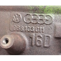 1.6 Diesel Cylinder Block 81-84 VW Rabbit Jetta Mk1 Dasher Audi JK - 068 103 011