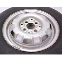"""13"""" x 5"""" Original Spare Wheel Rim & Tire VW Jetta Rabbit MK1 - 175 601 025 B"""
