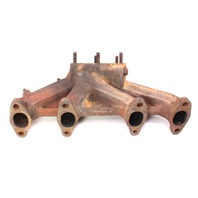 Dual Exhaust Manifold 83-89 VW Jetta Rabbit Scirocco MK1 ~ 067 253 033