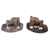 Pair Front Brake Calipers 75-79 VW Jetta Rabbit Scirocco MK1 ~ Early Style
