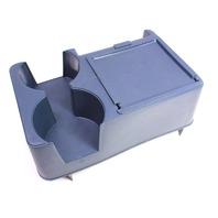 Vintage Blue Center Console Cup Holder 75-84 VW Rabbit GTI MK1 Rubber Queen