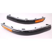 US Spec Bumper Molding Rub Strips 01-05 VW Passat B5.5 Chrome Trim - 3B0 807 718