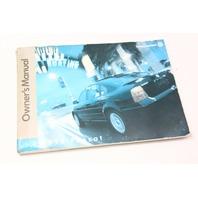 Owners Manual Books 1998 VW Passat - Volkswagen - Genuine