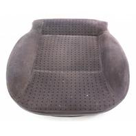 Front Seat Cushion & Cover 98-01 VW Passat B5 ~ Heated Black Cloth