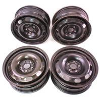 """15"""" x 6"""" Steel Wheel Rim Set 5x100 99-05 VW Jetta Golf GTI MK4 - 1J0 601 027 H"""