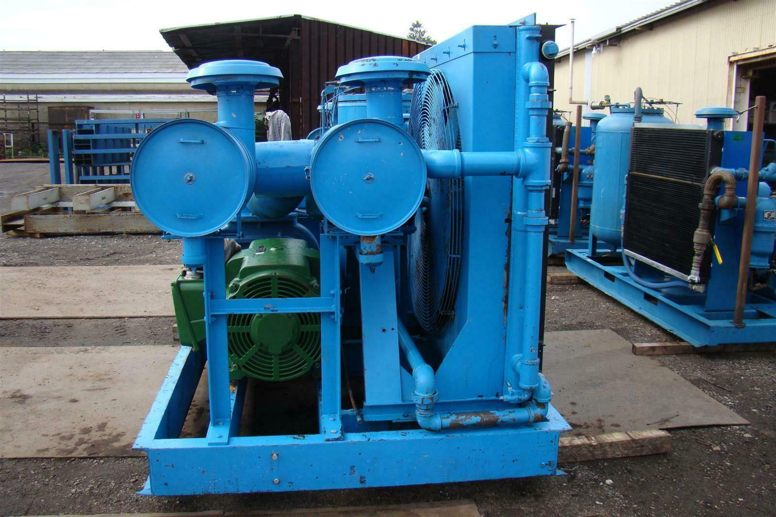 300hp Quincy Rotary Screw Air Compressor 460v 23 000hrs