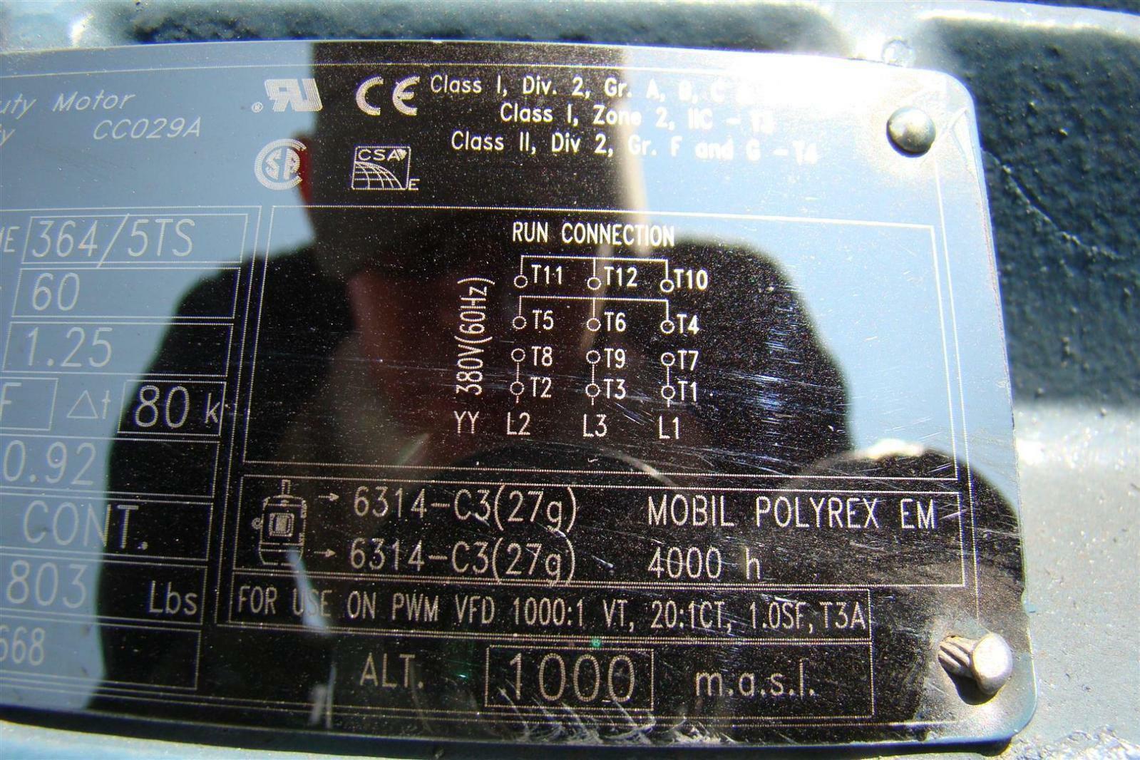 Weg W22 Nema Premium 60ho Electric Motor Ph3 380v 80a