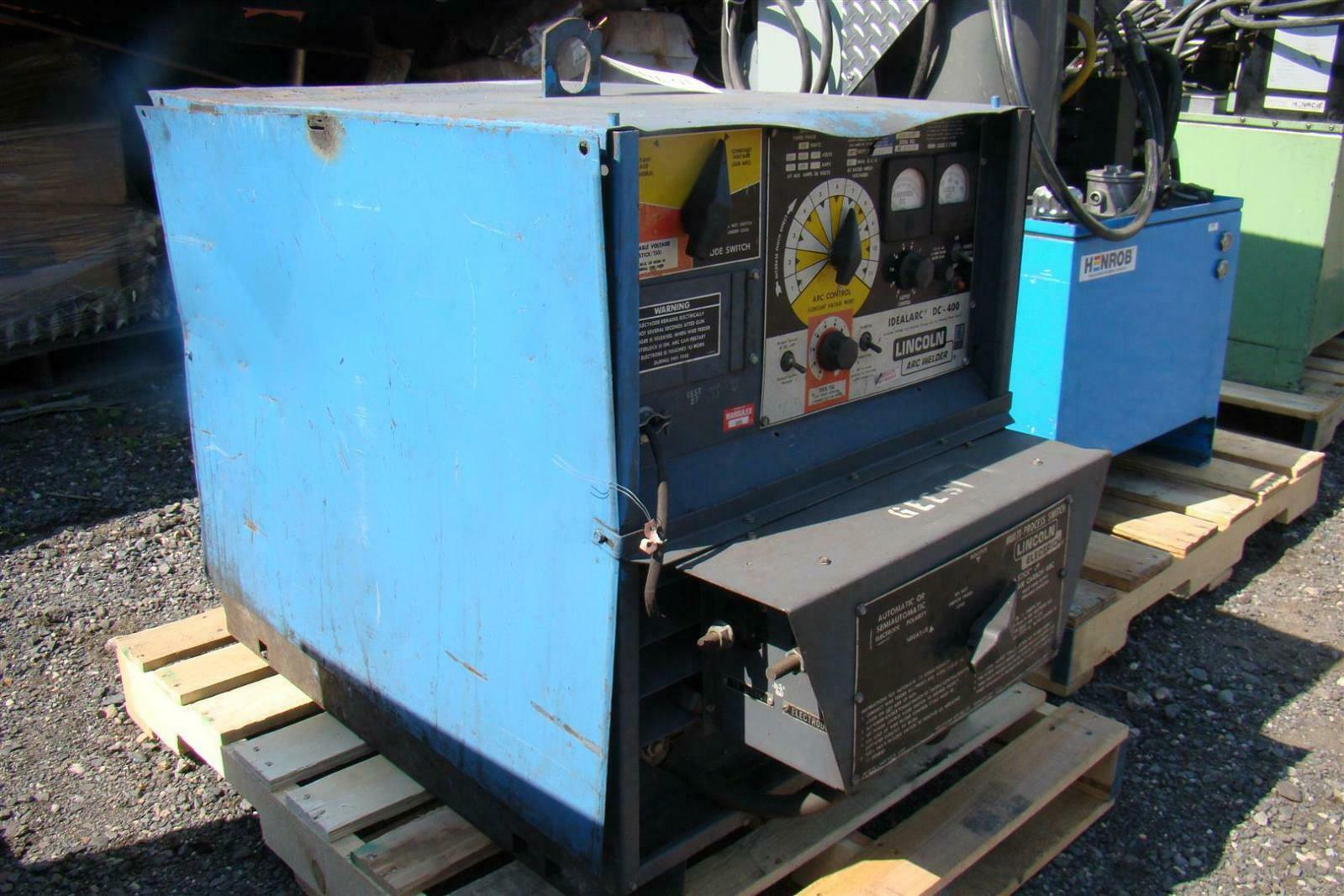 Lincoln Multi Process DC CV Welder Idealarc 230/460V 3 Phase DC-400 ...