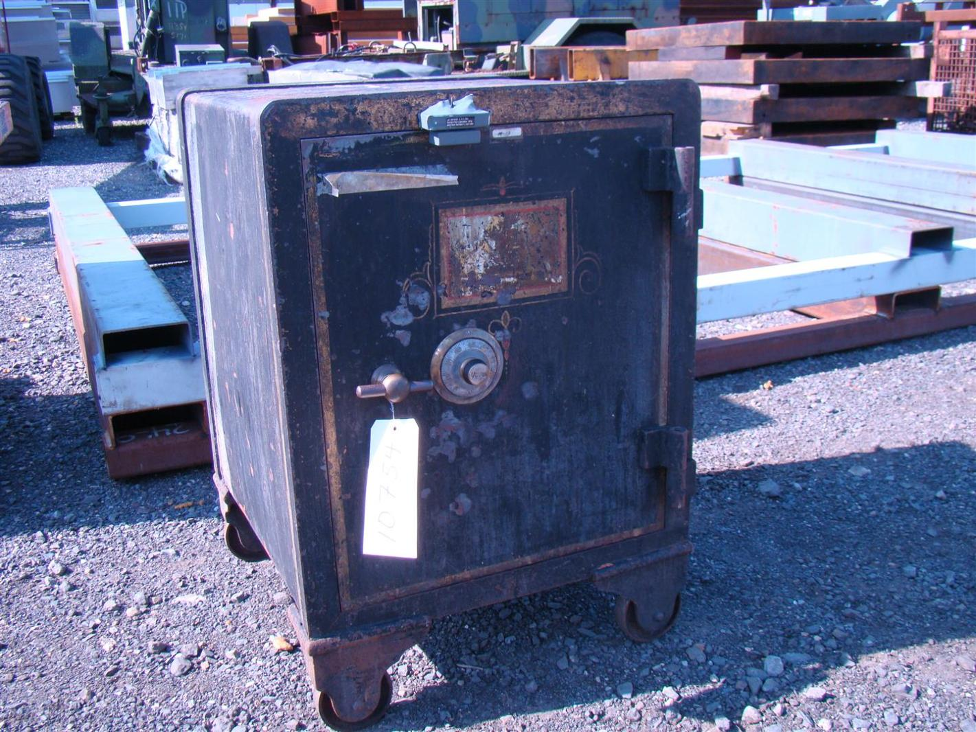 york safe. york antique combination safe m-13