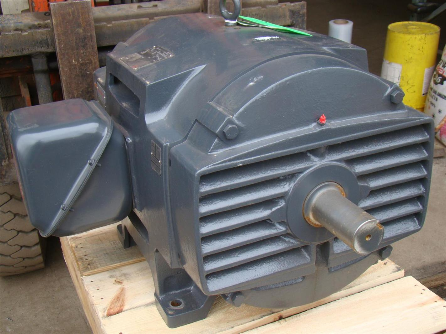 Us motors nidec 3 phase electric fire pump motor 100 hp for Electric motor 100 hp